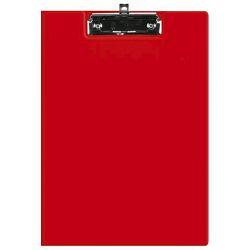 Ploča klip s preklopom+kvačica A4 kartonski pp Fornax crvena