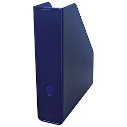 Stalak za spise okomit plastičan Fornax plavi