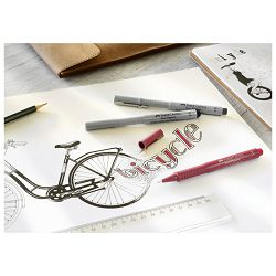 Flomaster za tehničko crtanje 0,05mm Ecco Pigment Faber Castell 166099 crni