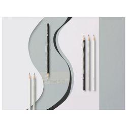 Olovka grafitna B Grip Sparkle Faber Castell 118301 svijetlo siva!!