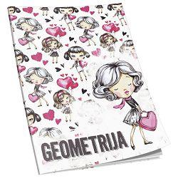 Obrazac školski geometrija Premium Connect Girl