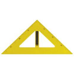 Trokut za školsku ploču pvc 60cm 45° Arda