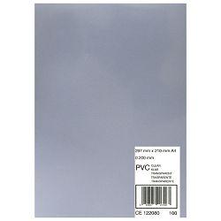 Korice za spiralni uvez 200my pvc A4 pk100 GBC CE012080F prozirne