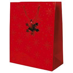 Vrećice ukrasne 26x33x13cm Glitter zvjezdice 04PV1159