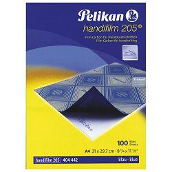 Indigo ručni film A4 pk100 Pelikan 404442 plavi