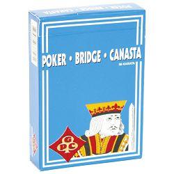 Karte igraće Poker-Bridge-Canasta 1/56