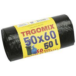 Vreća za smeće 50x60cm HD pk50 Trgomix