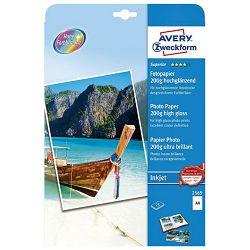 Papir Ink Jet foto premium sjajni 200g A4 pk25 Zweckform 2569-25