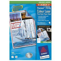 Papir Laser foto viski sjajni premaz/obostrano 150g A4 pk200 Zweckform 2598-200