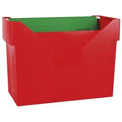 Kutija za mape viseće +5mapa Donau 7422001PL-04 crvena