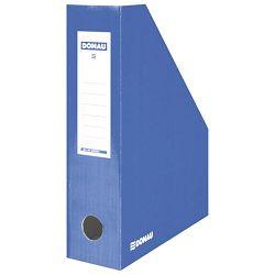 Stalak za spise okomit kartonski lakirani Donau 7649201-10FSC plavi