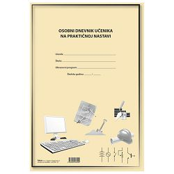 Obrazac L-4-72/A osobni dnevnik učenika na praktičnoj nastavi