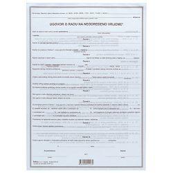 Obrazac E-4-1 ugovor o radu na neodređeno vrijeme Fokus
