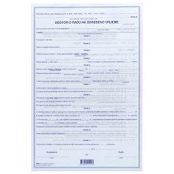 Obrazac E-4-2 ugovor o radu na određeno vrijeme Fokus
