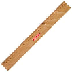 Ravnalo drveno s metalnim ojačanjem 30cm Brunnen 10-49740 30
