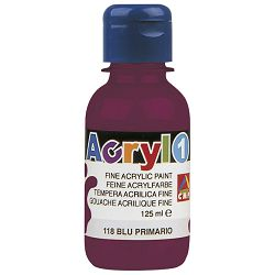 Boja tempera akrilna 125ml CMP.402TA125320 crvena bordo