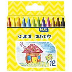 Boje voštane  12boja Color Educa blister