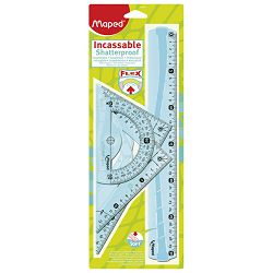 Geometrijski set 1/4 veliki Flexi Maped 244304 blister