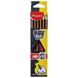 Olovka grafitna HB trokutasta pk12 Maped 850021 blister