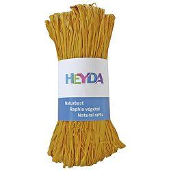 Rafija prirodna 50g Heyda 20-48877 90 žuta