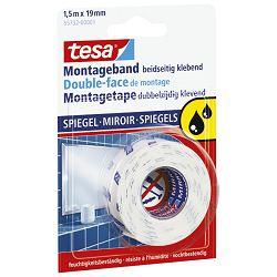Traka ljepljiva obostrana 19mm/1,5m spužvasta Mirror Tesa 55732-3 blister