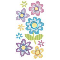 Naljepnice ukrasne 3D Cvijet šareni Heyda 20-37806 44 blister