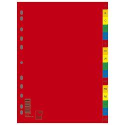 Pregrada plastična A4 A-Z kolor 16L Donau 7726095PL-99