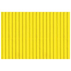 Papir ukrasni dvoslojni rebrasti B2 pk10 300g Heyda 20-47132 15 limun žuti