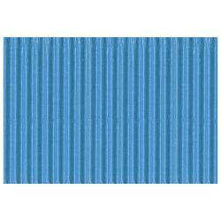 Papir ukrasni dvoslojni rebrasti B2 pk10 300g Heyda 20-47132 33 svijetlo plavi