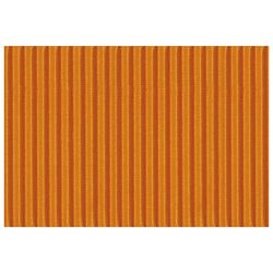 Papir ukrasni dvoslojni rebrasti B2 pk10 300g Heyda 20-47132 40 narančasti