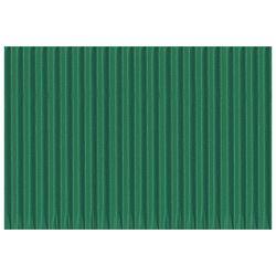 Papir ukrasni dvoslojni rebrasti B2 pk10 300g Heyda 20-47132 57 zeleni