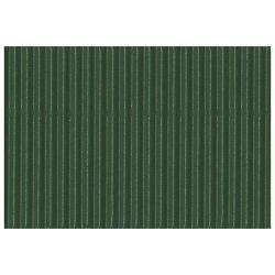 Papir ukrasni dvoslojni rebrasti B2 pk10 300g Heyda 20-47132 59 tamno zeleni