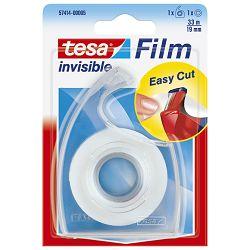Traka ljepljiva nevidljiva 19mm/33m +Easy stalak Tesa 57414-00005-02 blister!!