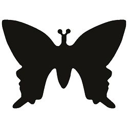Bušač 1 rupa mala-leptir Heyda 20-36874 43 blister