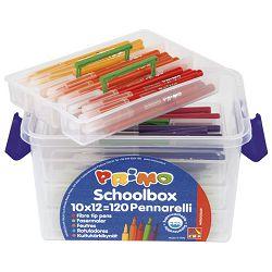 Flomaster školski 120boja (120x10 komada) Primo u pp kutiji CMP.615PEN120