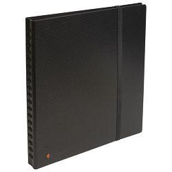 Album za vizitke 320 kartica s gumicom 25x26cm Exactive Exacompta 75234E