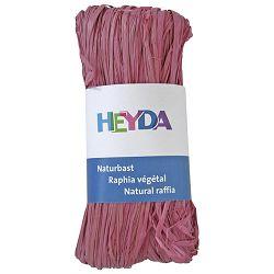 Rafija prirodna 50g Heyda 20-48877 87 roza