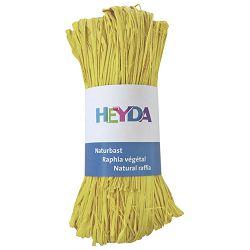 Rafija prirodna 50g Heyda 20-48877 88 svijetlo žuta