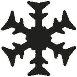 Bušač 1 rupa mala-pahulja Heyda 20-36874 34 blister