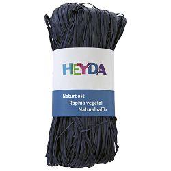Rafija prirodna 50g Heyda 20-48877 93 tamno plava