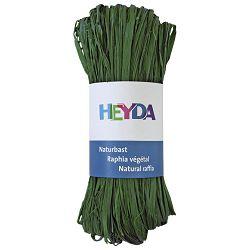 Rafija prirodna 50g Heyda 20-48877 97 tamno zelena