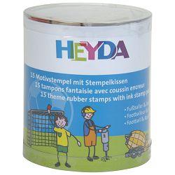 Žig s motivom za dječake pk15 Heyda 20-48884 89