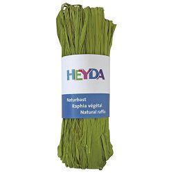 Rafija prirodna 50g Heyda 20-48877 95 svijetlo zelena