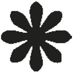 Bušač 1 rupa mala-cvijet Heyda 20-36874 20 blister