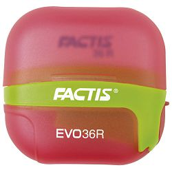 Šiljilo-gumica(36R) 1rupa s kutijom Factis EVO36R sortirano
