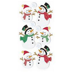 Naljepnice božićne 3D Snjegović Heyda 20-37806 21 blister