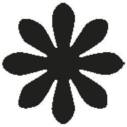 Bušač 1 rupa veća-cvijet Heyda 20-36875 00 blister