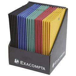 Fascikl klapa s gumicom karton B6 Scotten 425g Exacompta 50750E sortirano