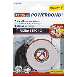 Traka ljepljiva obostrana 19mm/1,5m spužvasta Ultrastrong Tesa 55791-00001-00