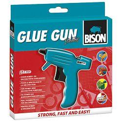 Ljepilo pištolj na patrone+1patrona Bison L0406210 blister